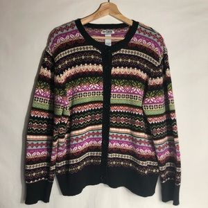 VTG Tiara International Sweater Multicolor Size L